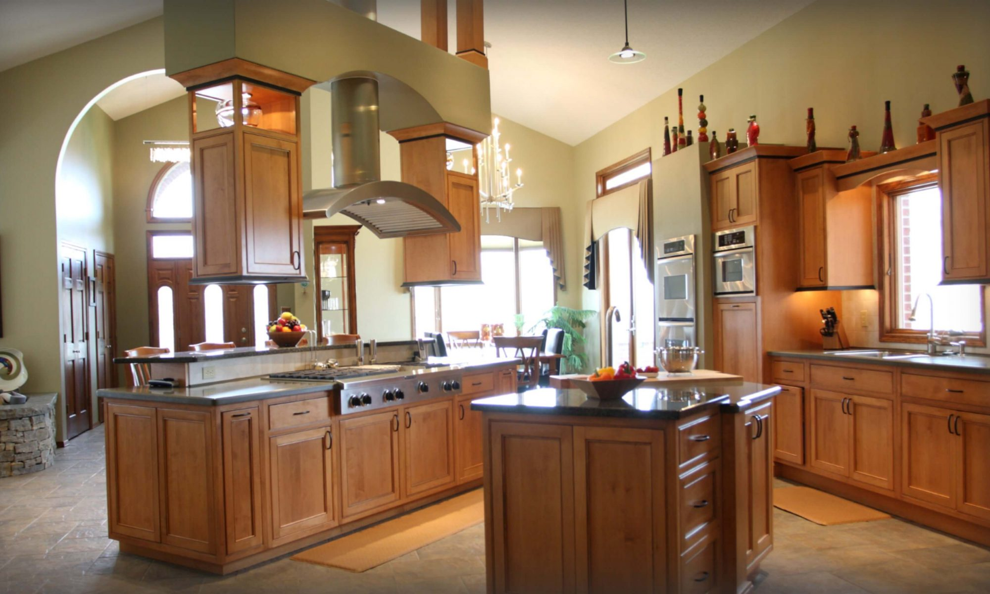 Interior Design Kitchen by Wright Building Center