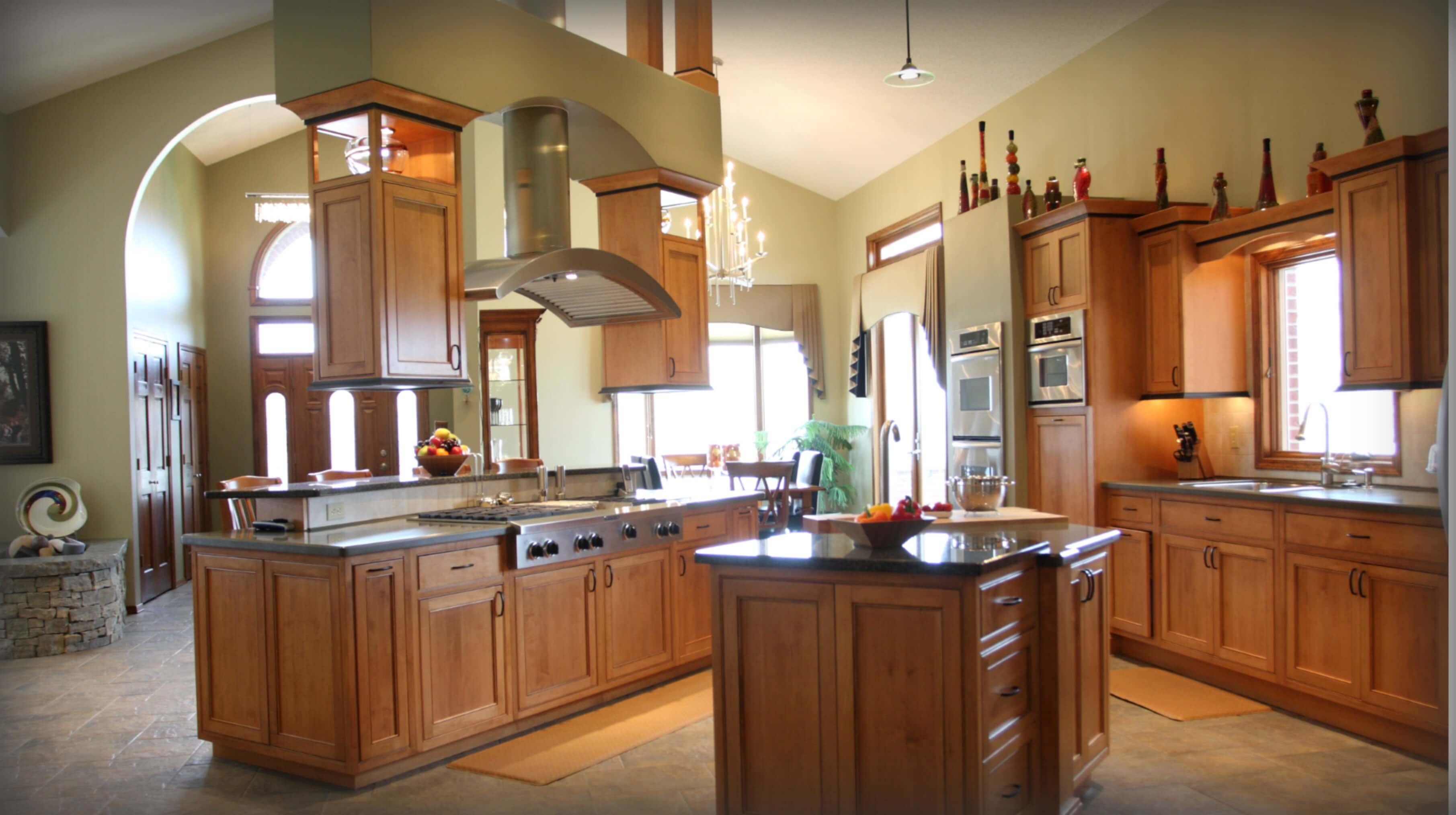 Interior Design Kitchen by Wright Building Center